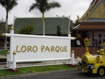 Eingang - Loro Parque