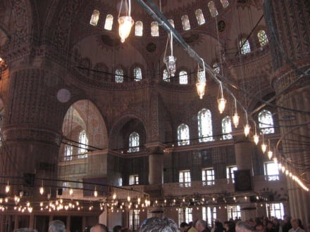 Blaue Moschee Innen - Sultan Ahmed / Blaue Moschee