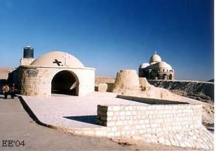 Neubauten beim Pauluskloster - Koptische Klöster St. Paulus & St. Antonius