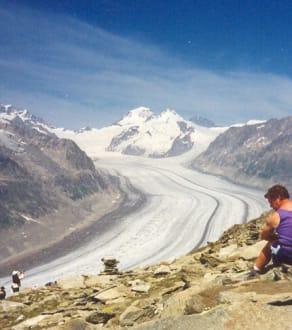 Aletschgletscher - Gletscherweg Aletschgletscher