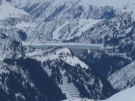 Der Silvretta Stausee - Silvretta Montafon
