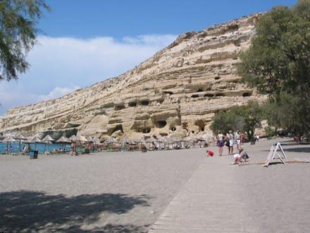 Hippihöhlen von Matla - Höhlen von Matala