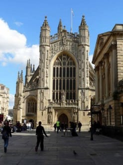 Cathedrale - Anglikanische Kirche Bath Abbey