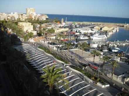 Blick auf die neu sanierte Promenade in Torrevieja - Torrevieja