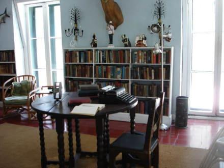 Arbeitszimmer - Ernest-Hemingway-Haus