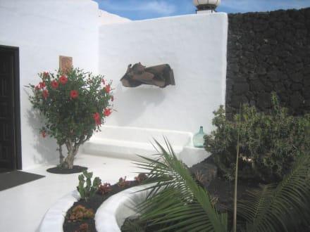 Ein kleiner Innenhof - Fundacion Cesar Manrique