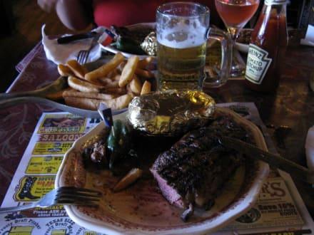 Das Essen - Big Texan Steak Ranch