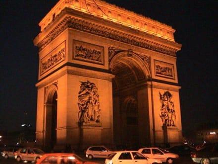 Paris - Arc de Triomphe  / Triumphbogen