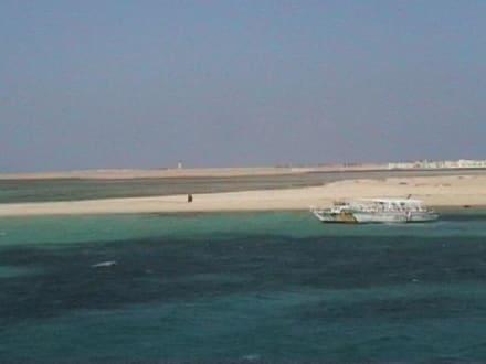 auf dieser insel machten wir zwischenstopp - Giftun / Mahmya Inseln