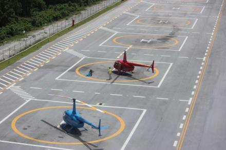 Helidosa Stützpunkt - Helikopter-Rundflug Punta Cana