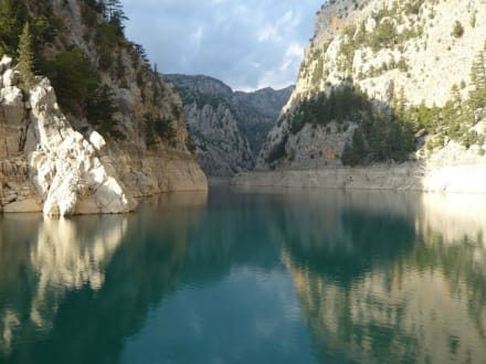 Grosser Canyon - Oymapinar Baraji/ Stausee Green Lake & Green Canyon