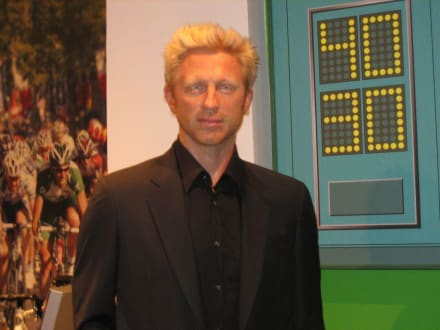 Boris Becker - Madame Tussauds
