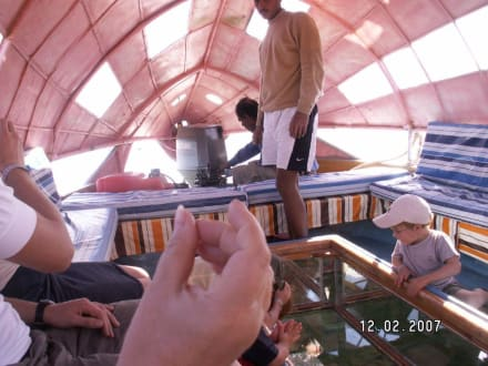 Glasboodenboot - Glasbodenboot Tour Dahab