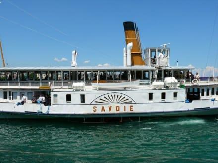 Schiff/Fähre - Schifffahrt Genfer See Genf
