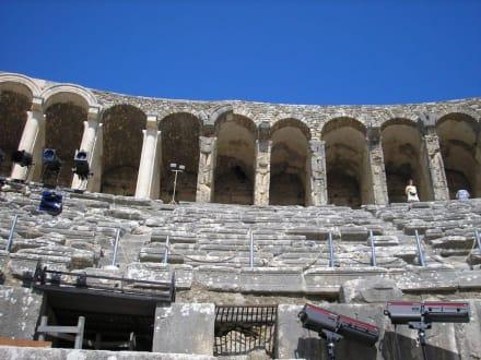 Kolossalwand - Theater von Aspendos