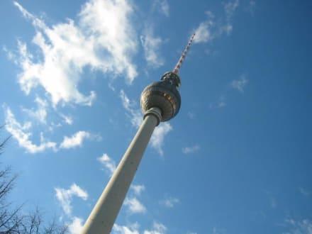 Berlin Funkturm - Berliner Fernsehturm