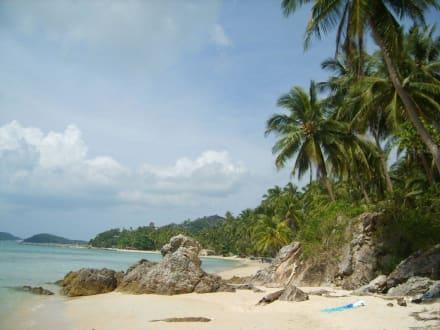Eine Bucht im Süden - Strände Koh Samui