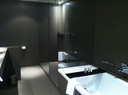 sch nes bad und dusche bild grischa das hotel davos in davos kanton graub nden schweiz. Black Bedroom Furniture Sets. Home Design Ideas