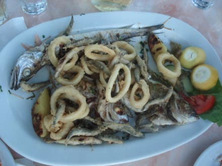Fischplatte für zwei Personen - Taverne Nick the Greek
