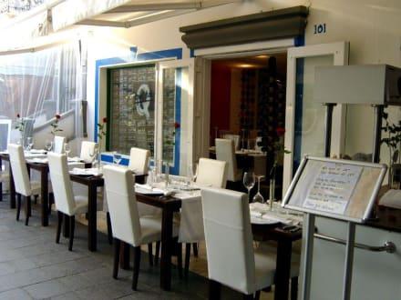 Im Freien! - Restaurant Qué tal