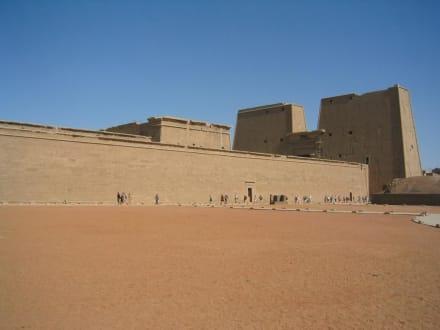 Der Horus-Tempel in Edfu - Horus Tempel Edfu
