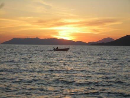 Calis Strand Sonnenuntergang - Strand Calis