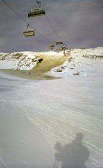 Schnee? - Skigebiet Warth Schröcken