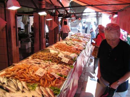 Fischmarkt in Venedig (Pescheria) - Fischmarkt (Pescheria)