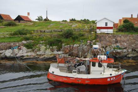 Fischerboot - Christiansø / Bornholm