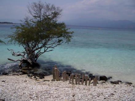 Gili Trawangan - Strand Gili Trawangan