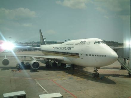 Jumbo Jet - Flughafen Singapur Changi (SIN)