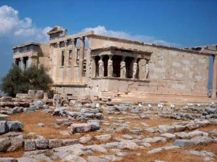 Das Erechtheion - Akropolis