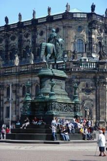 Johanndenkmal - König Johann Denkmal