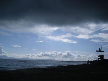 Unwetter am 22. 10. 08 - Strand Alcudia