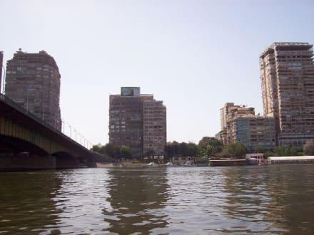 EL Gama´´a-Brücke - Bootstour auf dem Nil