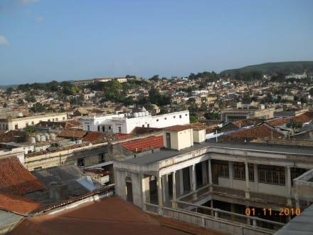 Blick vom Dachgeschoss - Casa Granda
