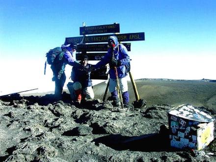 Auf dem Dach Afrikas - Kilimanjarobesteigung
