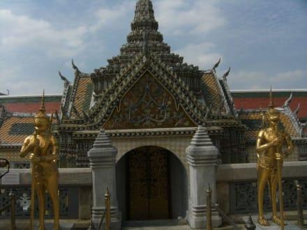 Tempel/Kirche/Grabmal - Wat Phra Keo und Königspalast / Grand Palace