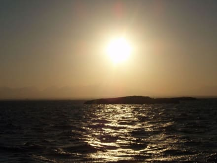 Sonnenuntergang über El Fanadir - Ausflug mit Mohamed