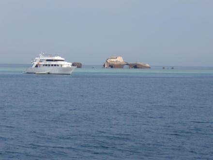 Straße von Tiran - Tauchbasis Sinai Divers Sharm el Sheikh