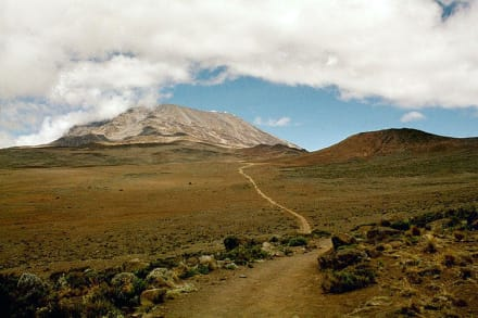 Kibo Wüste - Kilimanjarobesteigung