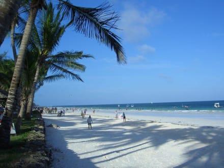 Sandstrand in Diani Beach - Strand Diani Beach