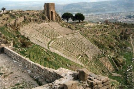 Das steilste Theater der Antike - Pergamon