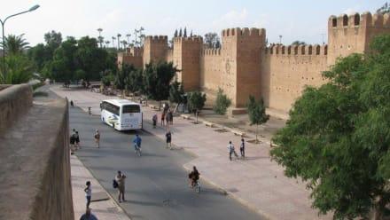 Stadtmauer von Taroudannt - Stadtmauer und Medina