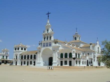 El Rocio Wallfahrtskirche - Wallfahrtskirche El Rocio