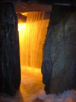 Wasserfall - Therme Erding
