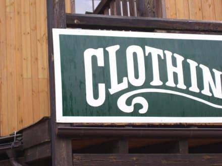 Original nachgebaut - Westernstadt El Dorado