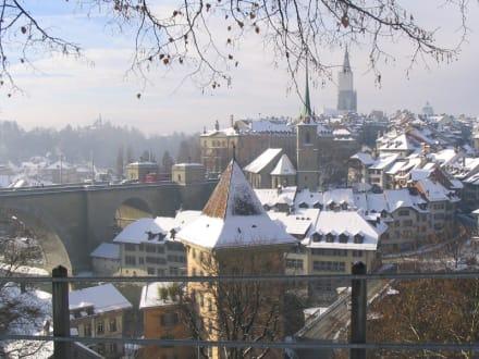 Bern - Blick über die Altstadt - Altstadt Bern