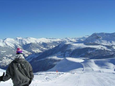 Los gehts - Lenzerheide Skigebiet