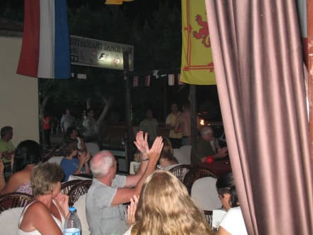 Feuershow - Captain Jack Restaurant Bar